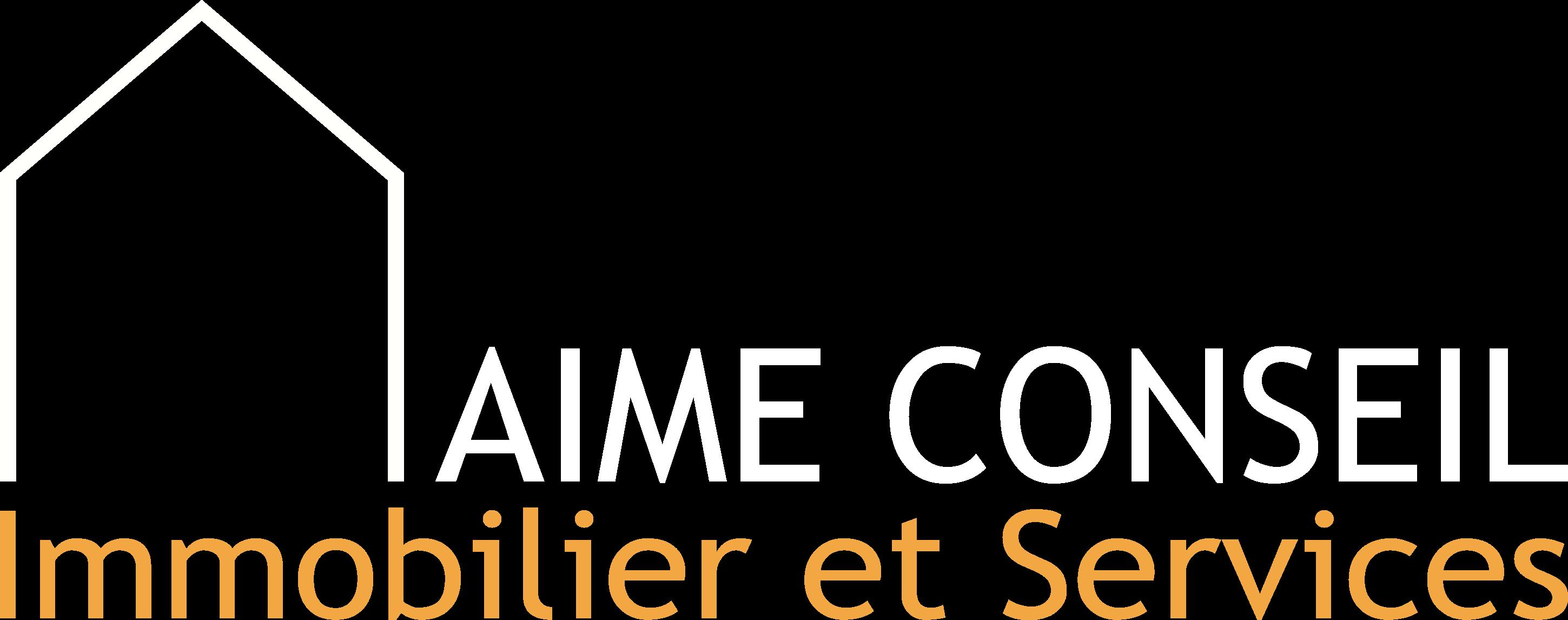 Logo Aime Conseil Immobilier et Services Cabinet de Syndic de copropriété en Tarentaise. Gestion d'immeubles dans les stations de ski de La Plagne, Tignes, Les Arcs, La Rosière et les villes de la vallée comme Bourg saint Maurice, Aime et Moutiers