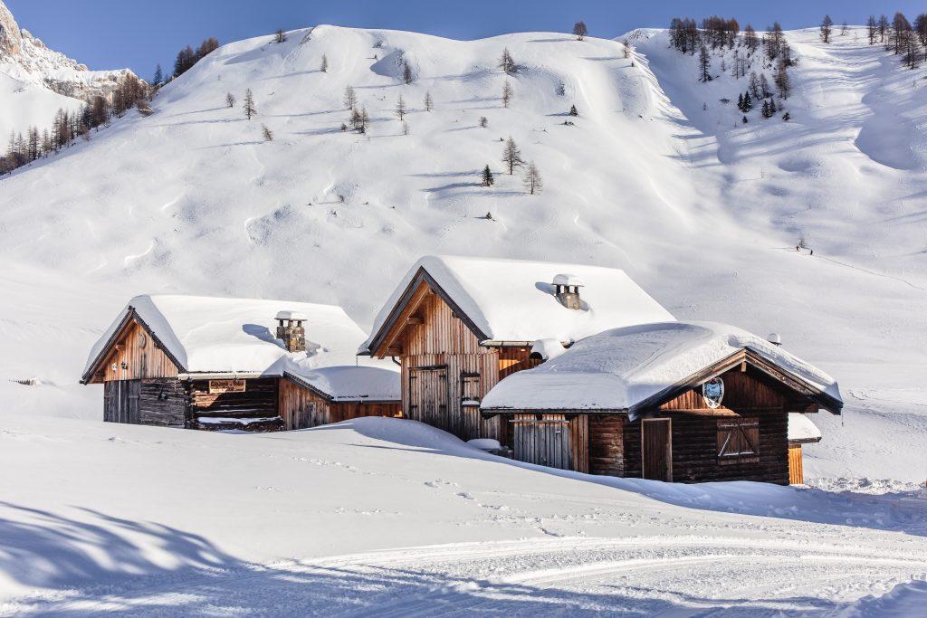 Chalets de Montagnes aux croisements des stations de ski de Vallandry, les Arcs et la Plagne